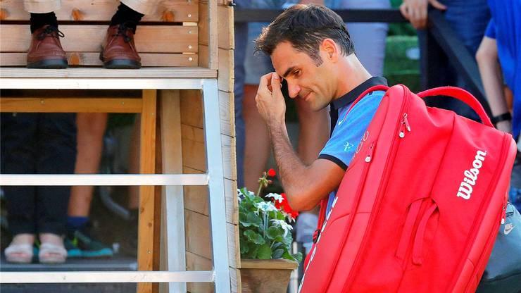 Roger Federer musste bereits 248 Niederlagen einstecken. keystone