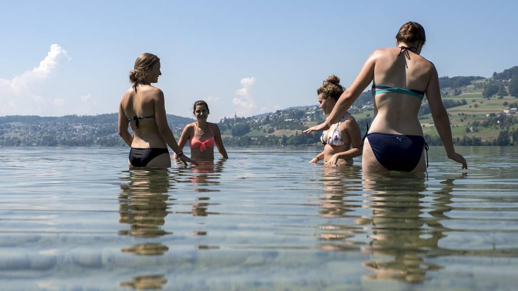Hitzetag auf der Alpennordseite
