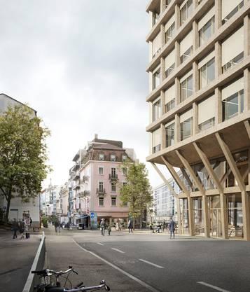 Visualisierung Ansicht Europäischer Hof