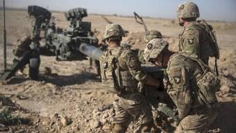 Seit 18 Jahren dauert der Krieg nun an: US-Soldaten in Afghanistan.