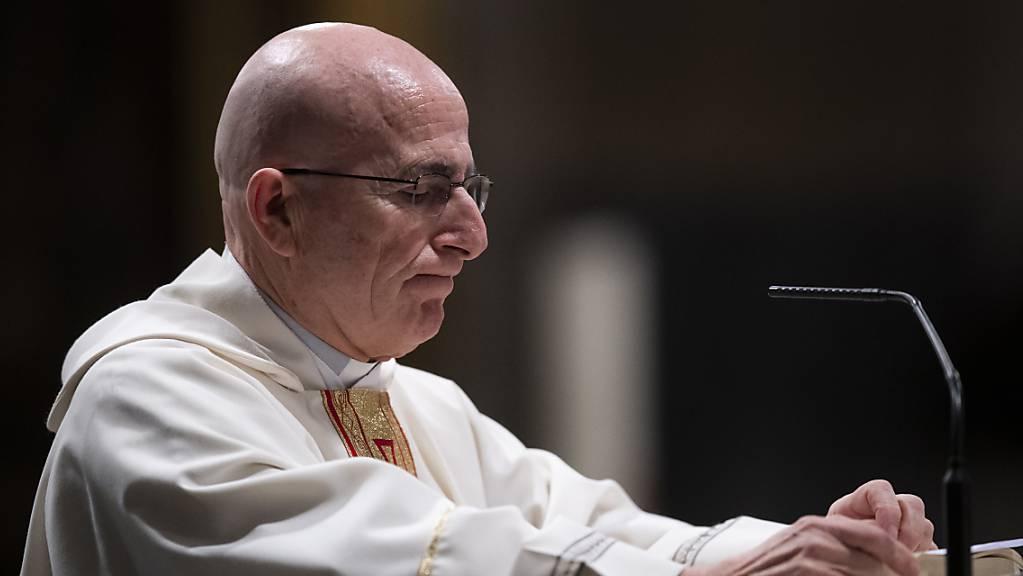 Joseph Bonnemain wird am 19. März in Chur zum Bischof geweiht. Zur Feier ist wegen der Corona-Pandemie nur ein kleiner Personenkreis zugelassen.