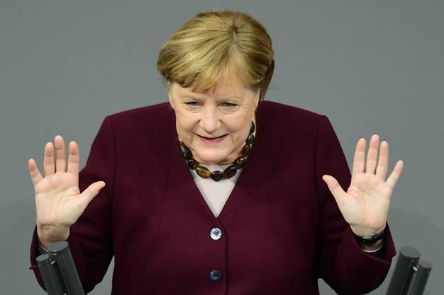 Bitte kein Skifahren an den Festtagen: Bundeskanzlerin Angela Merkel