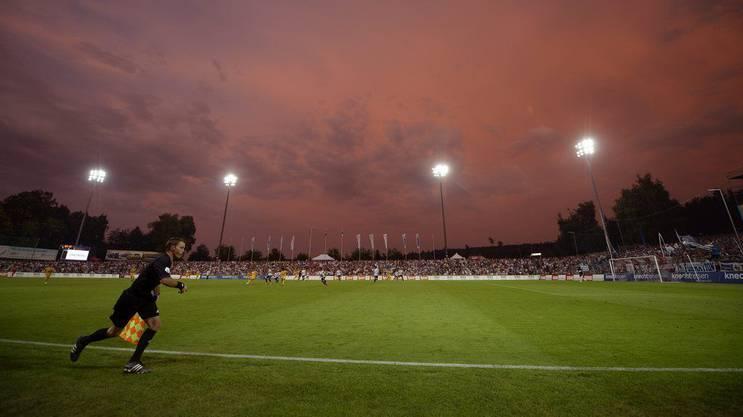 Das Stadion Brügglifeld: Wunderschön, aber ein Auslaufmodell.