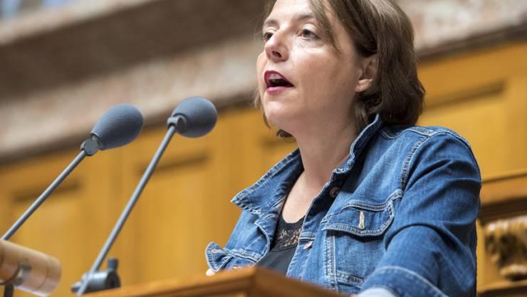Hegt Ambitionen für den Ständerat: die Waadtländer SP-Nationalrätin Ada Marra. (Archiv)