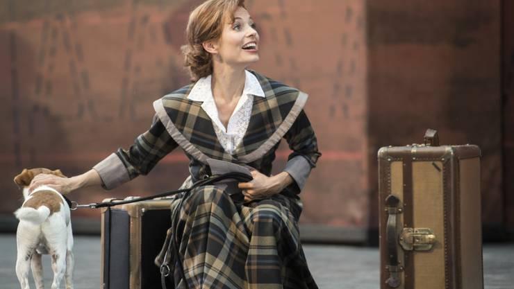 """Eveline Suter als Kate im Musical """"Titanic"""" (2015) in Walenstadt: Die Schauspielerin konzentriert sich nach ihrem Ehe-Aus wieder voll auf ihre berufliche Karriere. (Archivbild)"""