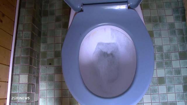 Toiletten-Stunk in Ustermer Schrebergärten