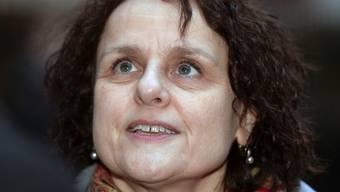 Iris Ritzmann steht am Freitag 28. November 2014 in der Affäre Mörgeli vor Gericht.