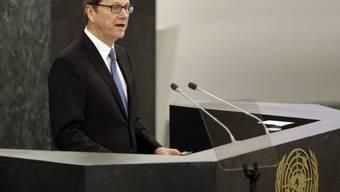 Der deutsche Aussenminister Guido Westerwelle in New York