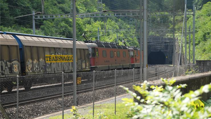 Bözbergtunnel heute: Im Jahr 2020 soll der Neubau in Betrieb gehen.