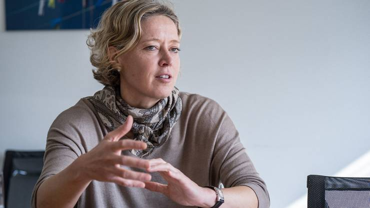 Jana Noeldeke (45) hat in den nun mehr als 19 Jahren bei Roche unterschiedliche Rollen in der Entwicklung von neuen Medikamenten wahrgenommen. Seit über vier Jahren leitet sie das Down-Syndrom-Projekt.