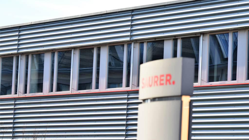 Saurer baut am Standort Arbon Stellen ab.