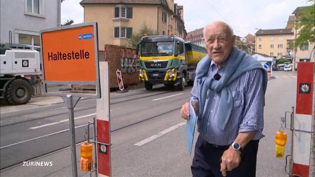 Ersatzhaltestelle: Rentner stimmt Stadt um