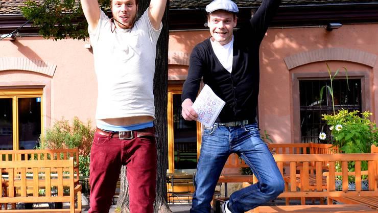 David Christen (rechts) und Jeroen van Vulpen.