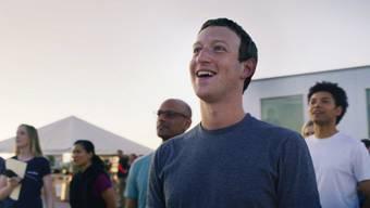 Wieder aufgetaucht: Posts auf der Timeline von Facebook-CEO Mark Zuckerberg. (Archivbild)