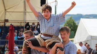 Schlussganggewinner vom Aargauer Nachwuchsschwingertag