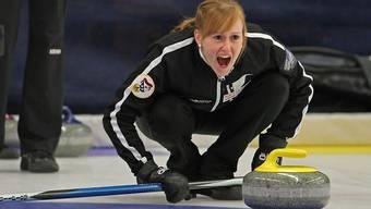 Michèle Jäggi hat im Mixed-Doppel guten Erfolg