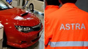 Ein Astra-Mitarbeiter soll mit Projektgeldern ein Auto finanziert haben, welches nur er selber benutzte.