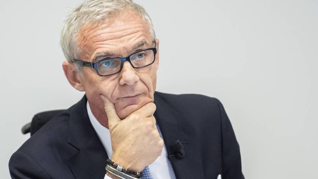 CS-Präsident Urs Rohner fordert neue Instrumente bei den Coronahilfen für Unternehmen