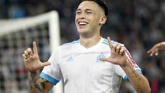 Lucas Ocampos traf bei Marseilles Auswärtssieg in Nizza zweimal