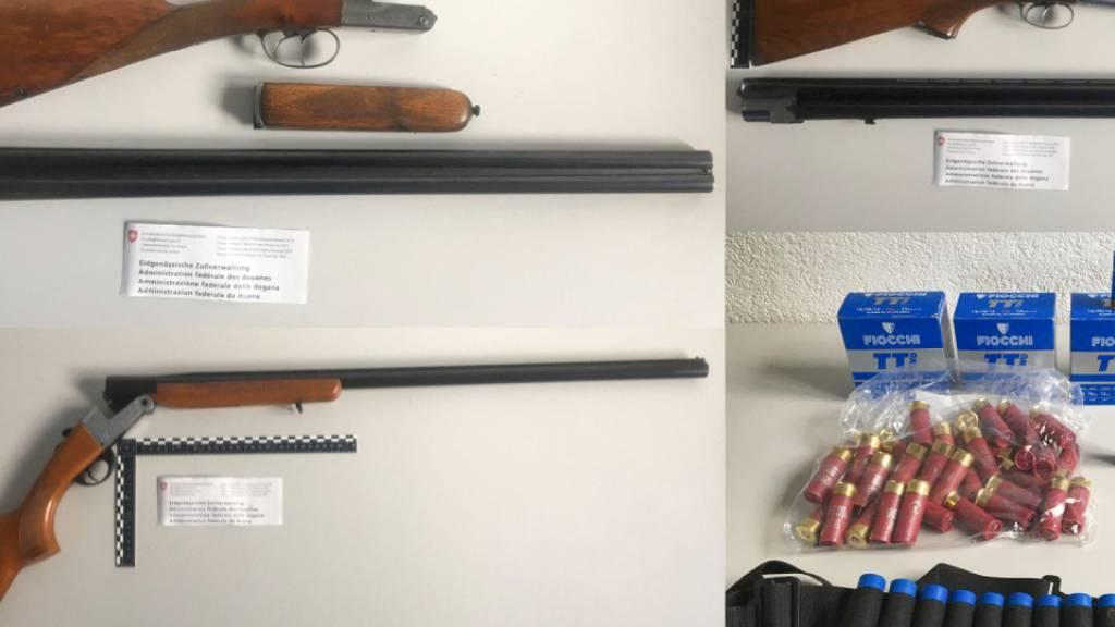 Ehepaar mit zehn Waffen in Biel-Benken BL erwischt