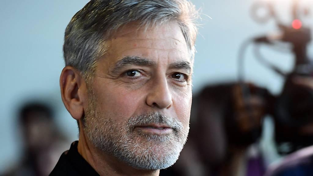 ARCHIV - George Clooney, Schauspieler aus den USA. Foto: Ian West/PA Wire/dpa