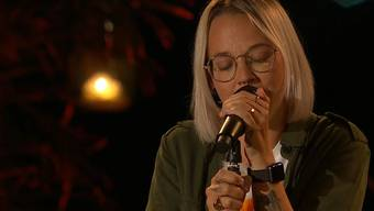 "Gefühlvoll: Stefanie Heinzmann interpretiert Marc Storaces ""You Can't Stop The Rainfall""."