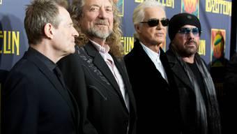 Für Led Zeppelin ist die Wiedervereinigung kein Thema (Archiv)