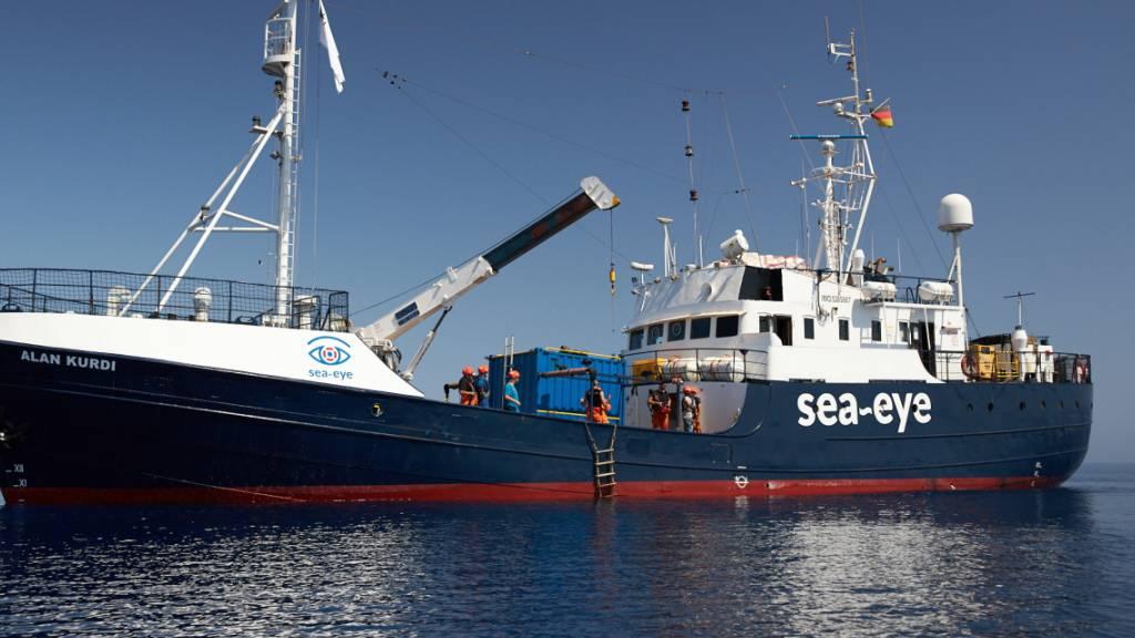Rettungsschiff «Alan Kurdi» darf in Italien anlegen