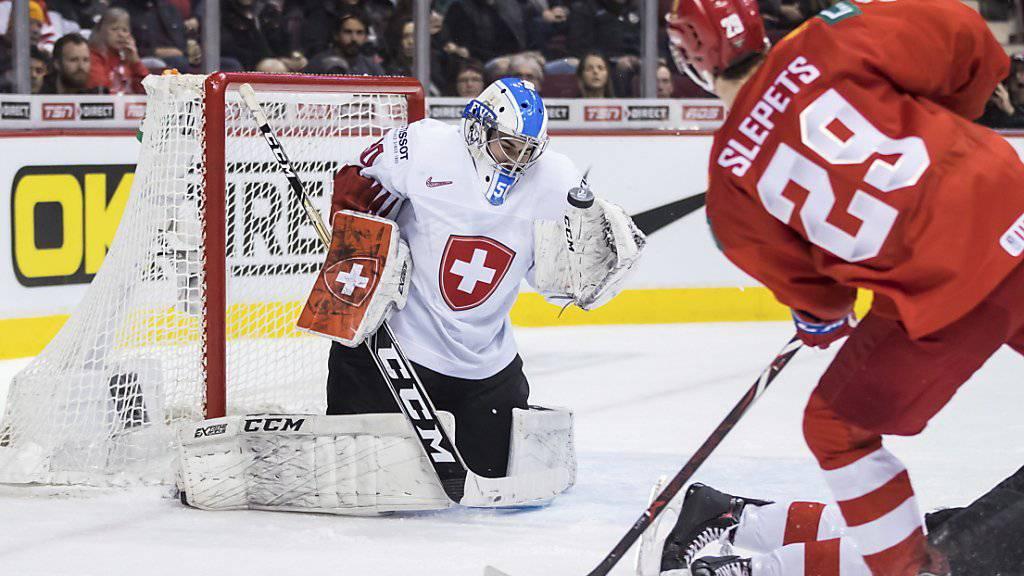 Kirill Slepez schoss die Russen praktisch im Alleingang zur Bronzemedaille