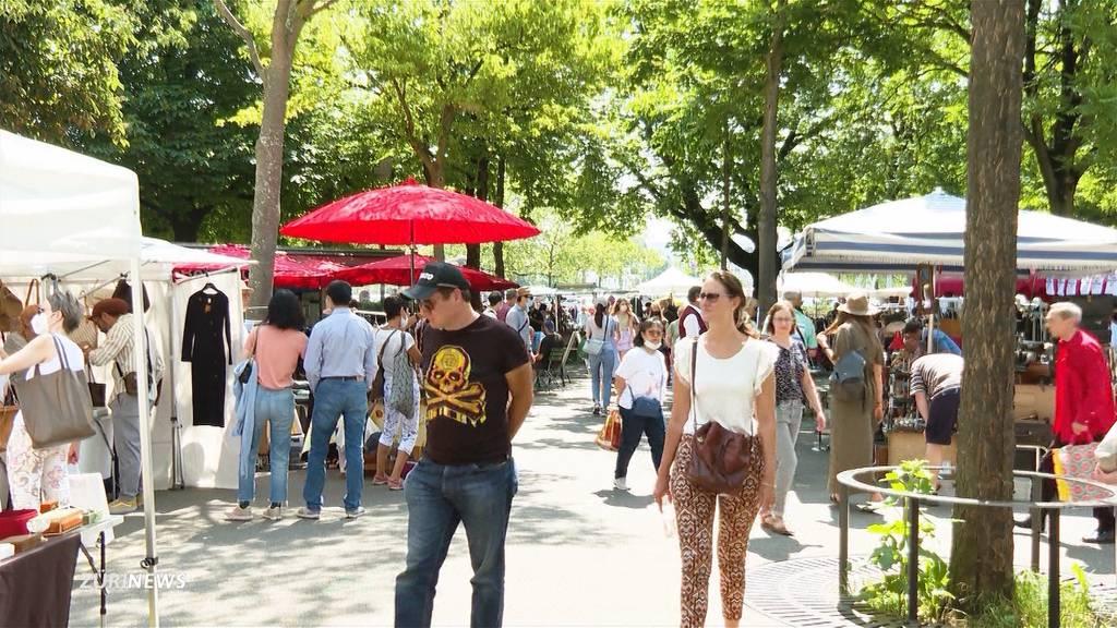 50 Jahre Flohmarkt am Bürkliplatz