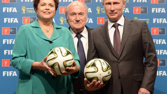 Organisatoren von Sportanlässen: FIFA, Brasilien und Russland