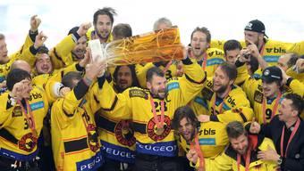 Fünftes Playoff-Finalspiel zwischen dem SC Bern und dem HC Lugano