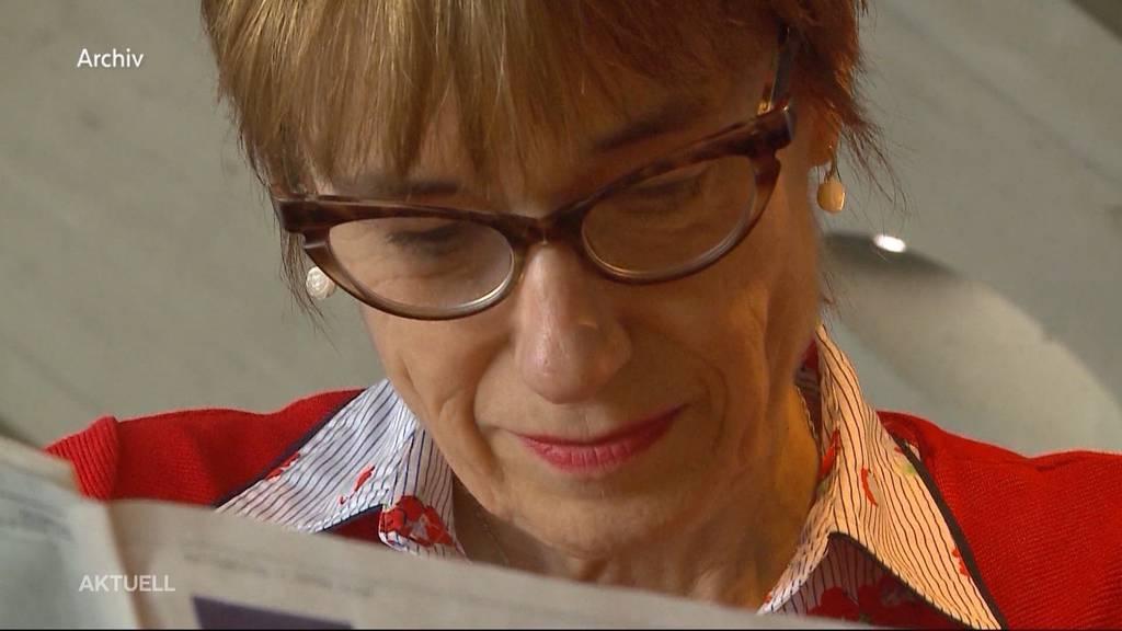 Favoritin Ruth Humbel verzichtet auf Regierungsrats-Kandidatur