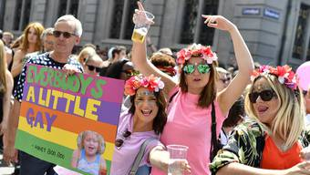 Pride-Umzug in Zürich - Impressionen (10.06.2017)