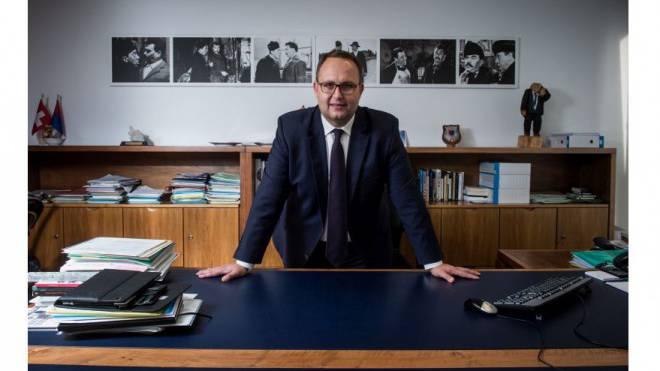 Der Tessiner Regieriungspräsident Norman Gobbi, Bundesrats-Kandidat. Foto: Gabriele Putzu/Ti-Press/Keystone