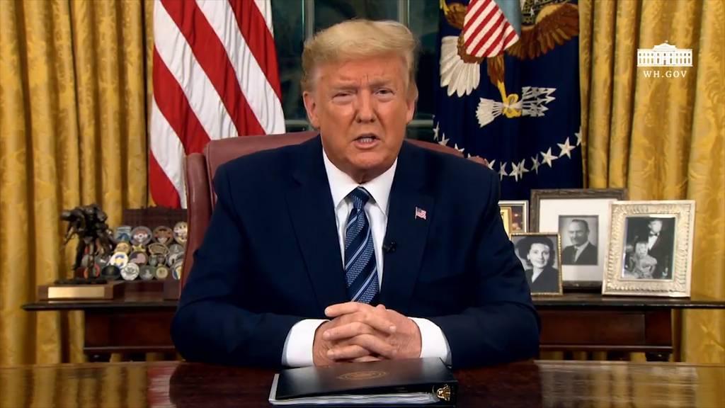 Trump erlässt 30-tägigen Einreisestopp aus Europa