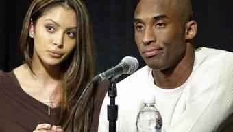 Kobe Bryant mit Ex-Partnerin Vanessa (Archiv)