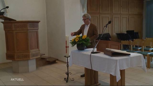 Abstimmungen: Frick verabschiedet sich offiziell von Pfarrer Siebenmann