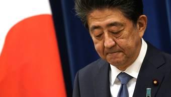 Seit 2012 hatte Abe die 125-Millionen-Nation regiert. Jetzt ist Schluss.
