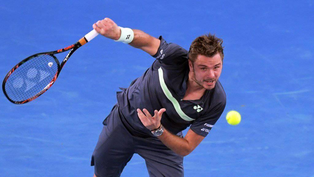 Stan Wawrinka steht am ATP-Turnier in Sofia in den Halbfinals