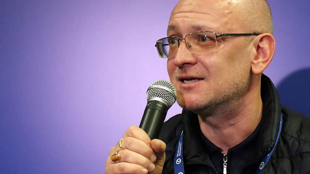 ARCHIV - Maxim Resnik nannte die Gerichtsentscheidung politisch motiviert. Foto: Hannah Wagner/dpa