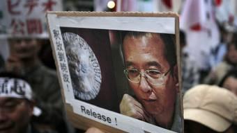 Statt den Friedensnobelpreisträger freizulassen, wie dies Demonstranten fordern, schafft China einen eigenen Friedenspreis (Archiv)