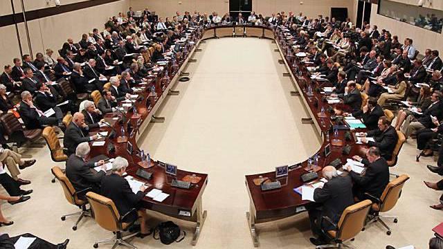 Die NATO-Mitglieder beraten sich in Brüssel