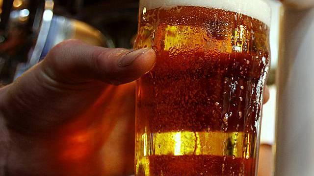 In Grossbritannien gibts Bier im bruchsicheren Glas