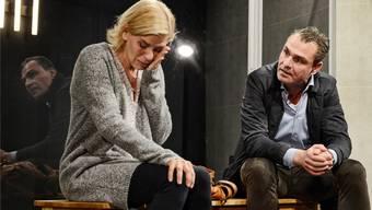 Szenen einer gescheiterten Ehe im Theaterstück «Gift».