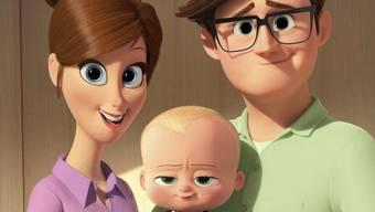 """""""The Boss Baby"""" sagt, wo's lang geht. In der Deutschschweiz verwies der Animationsfilm am Wochenende """"Beauty and the Beast"""" und """"Die göttliche Ordnung"""" auf die Ränge. (Handout)"""