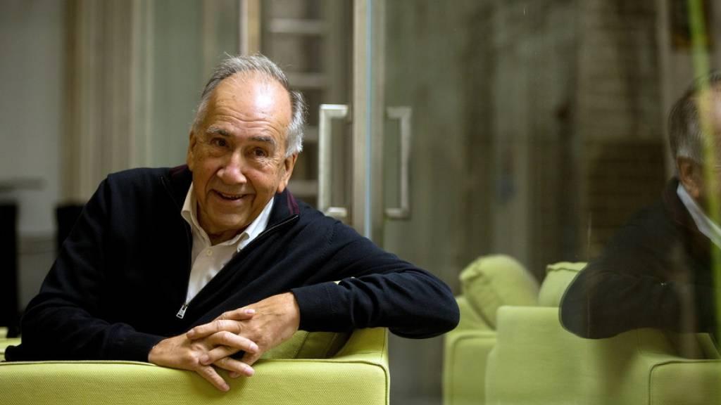 Der katalanische Dichter und Architektur-Professor Joan Margarit wird mit dem Cervantes-Literaturpreis geehrt. Der Preis gilt als die wichtigste literarische Auszeichnung in der spanischsprachigen Welt. (Archivbild)