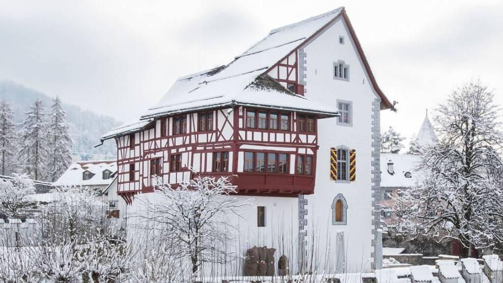 Das Museum Burg Zug ist wegen Corona im Winterschlaf. 2020 ist die Zahl der Besucher wegen der Pandemie deutlich gesunken.
