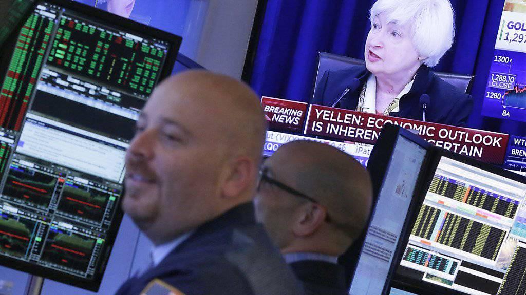 Sollte die Wirtschaft in grosse Schwierigkeiten geraten, sind die US-Banken nach einem Stresstest der Notenbank Fed gut gerüstet. (Archivbild)