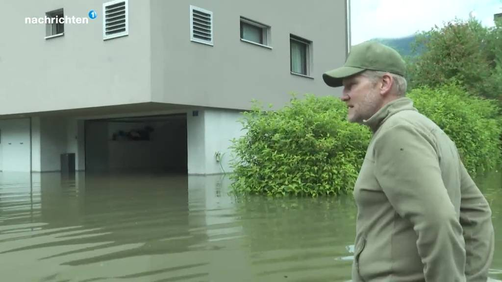 Giswil überschwemmt